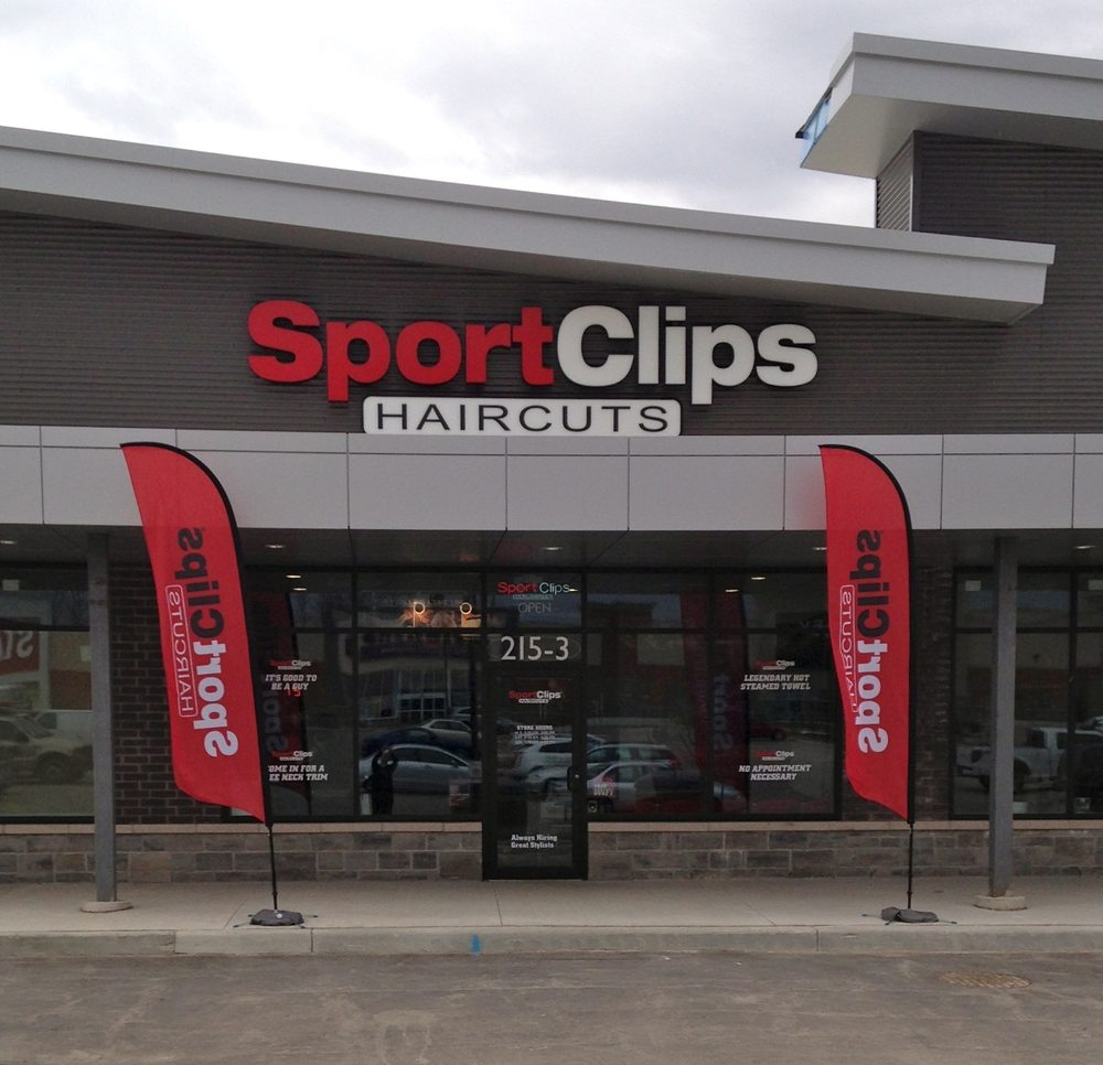 Sport Clips Haircuts Barbers 215 The Boardwalk Kitchener On