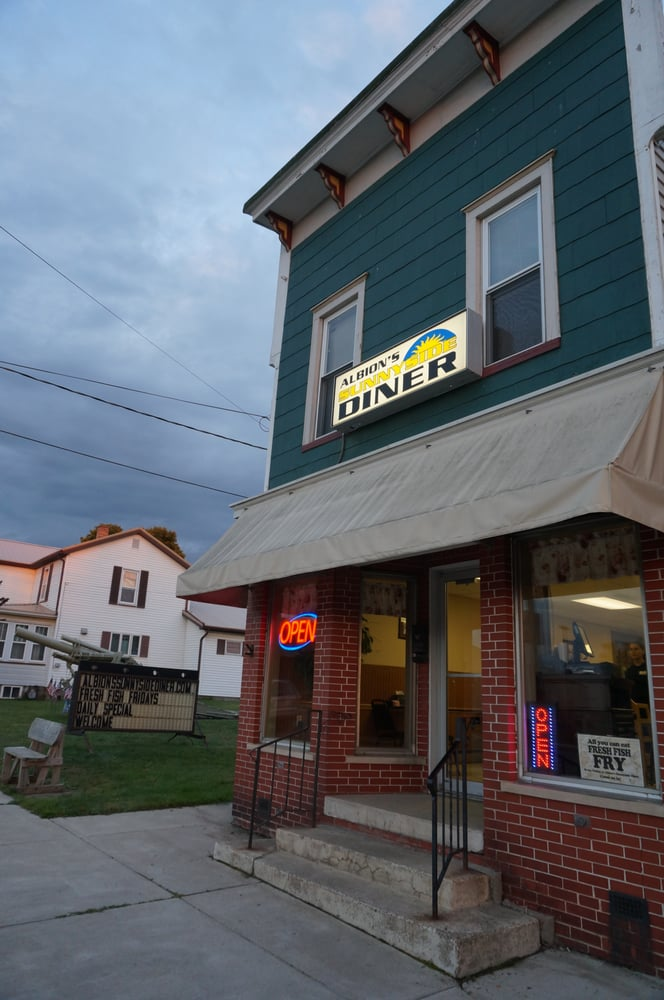 Albion's Sunnyside Diner: 79 E State St, Albion, PA