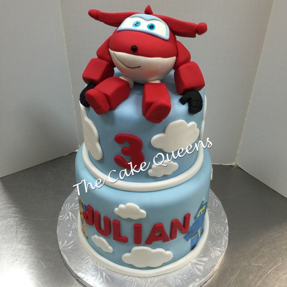 Super Wings Birthday Cake - Yelp