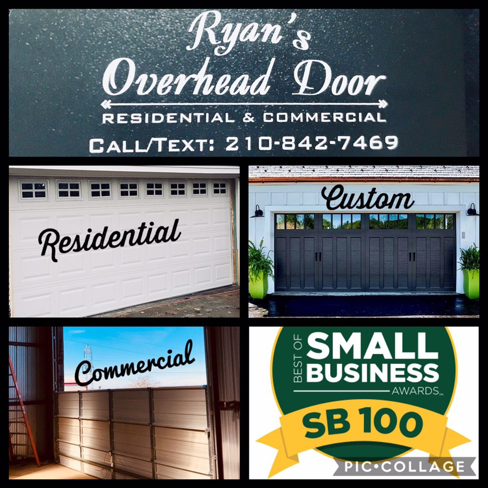 Ryan's Overhead & Garage Door Repair: Buda, TX