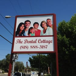 Captivating Photo Of The Dental Cottage   Canoga Park, CA, United States. Front Sign