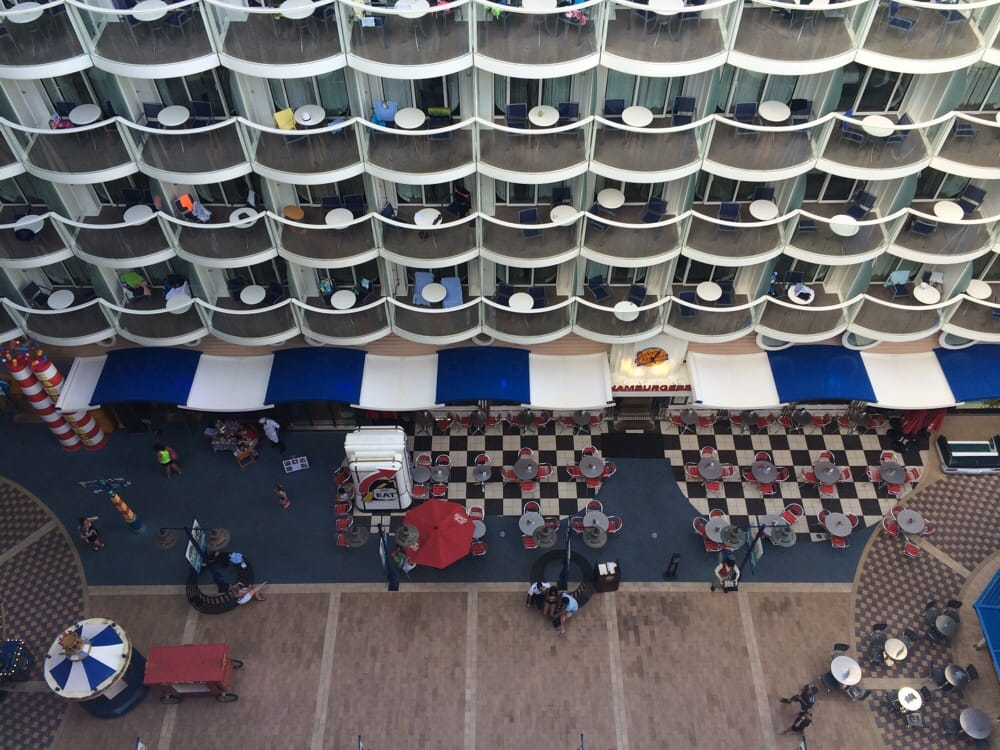 Looking down from deck 15 yelp - Allure of the seas fort lauderdale port address ...