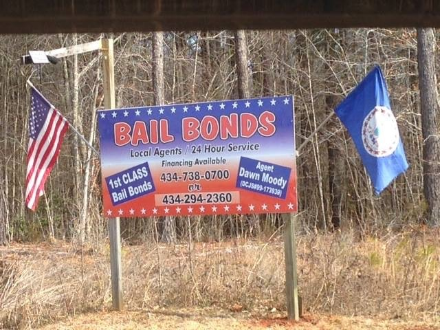 1st CLASS Bail Bonds, Dawn Moody: 202 Liberty Rd, Alberta, VA