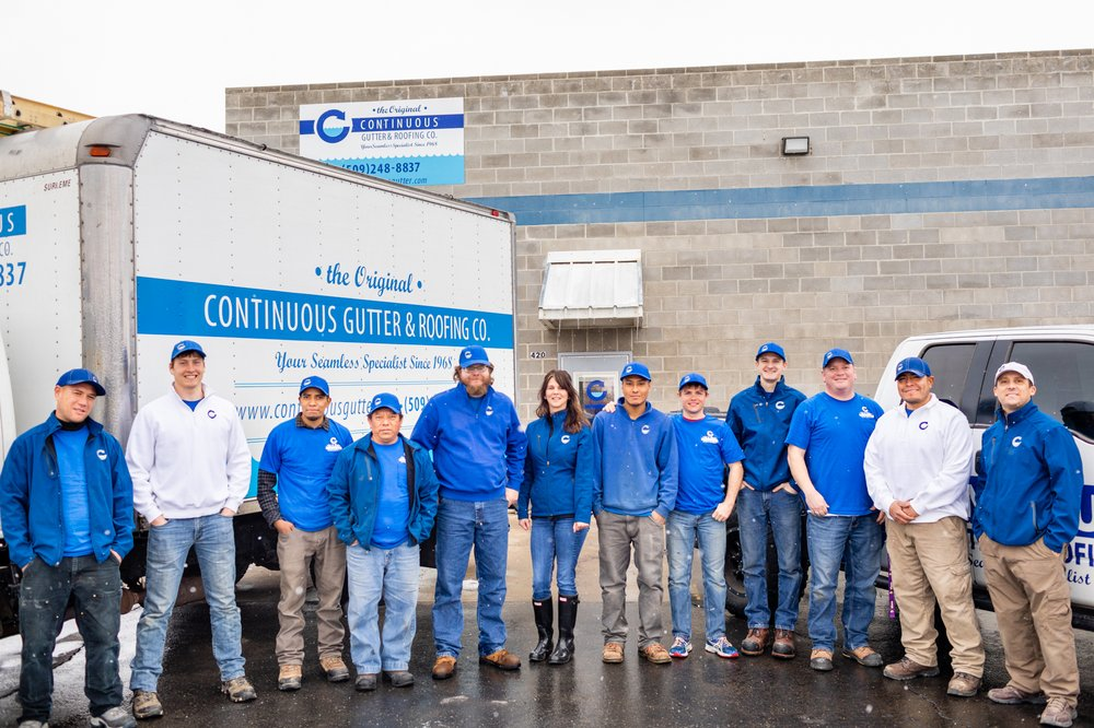 Continuous Gutter & Roofing: 113 W D St, Yakima, WA
