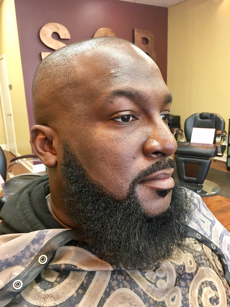 Excellent cut, fade, beard trimmed and, hot towel service a