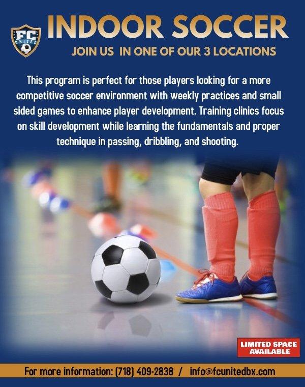 Indoor Soccer: Bronx, NY