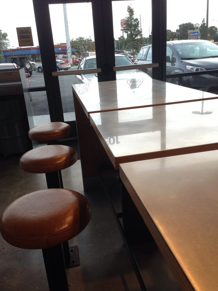 Bar Stools Instead Of Sit Down Chairs Huh Yelp