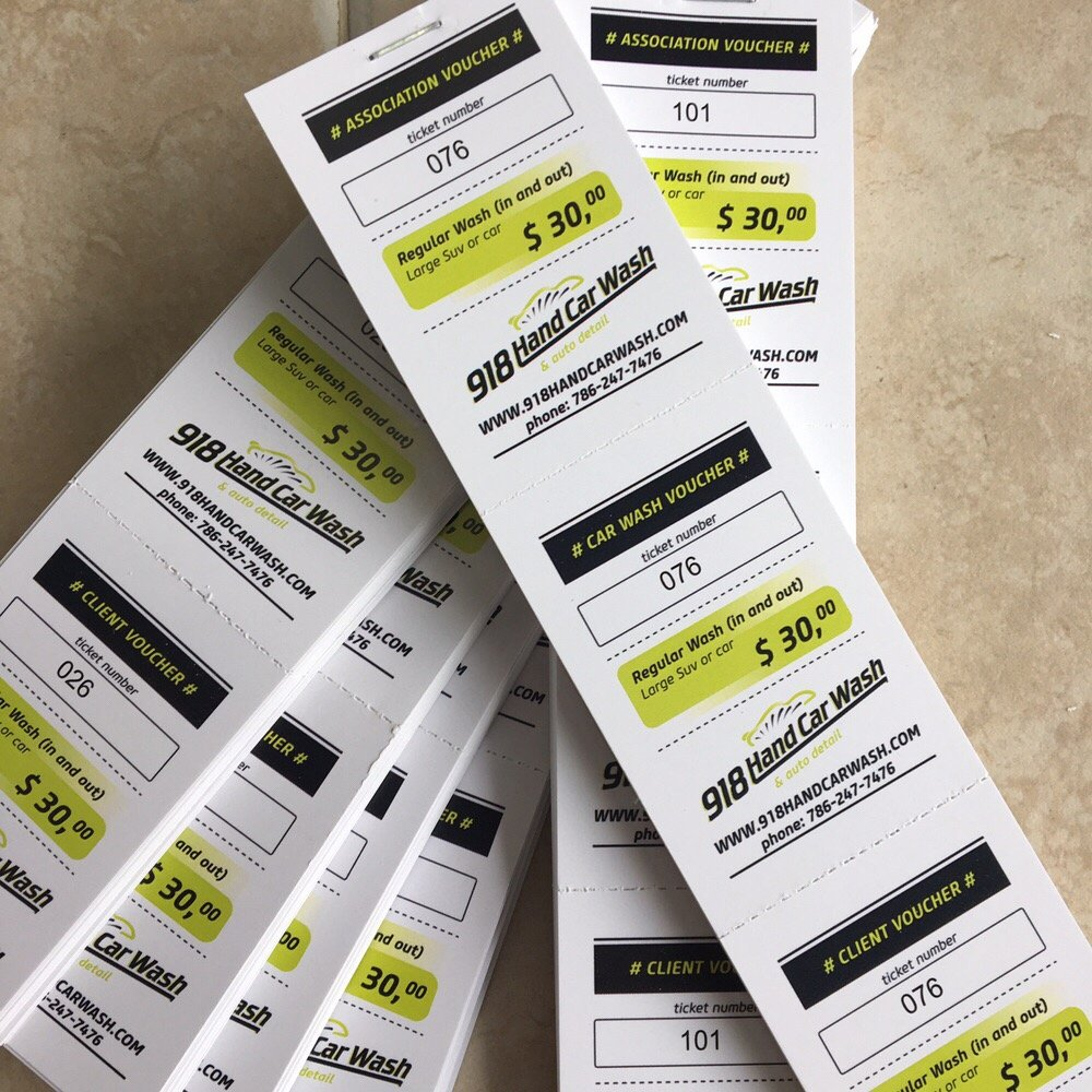 tickets with numbers printed full color yelp