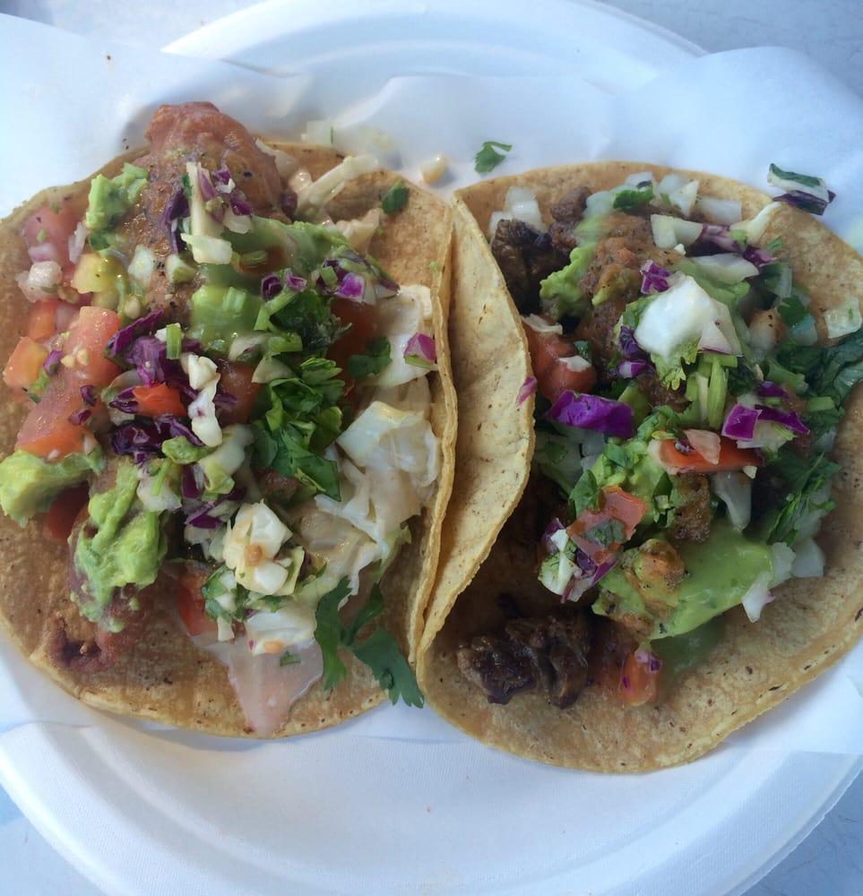 Steak baja fish tacos yelp for Fish tacos near me