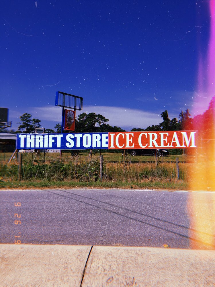 Michelle's Thrift Shop & Aerianna's Ice Cream Shop: 1332 US Hwy 74W, Rockingham, NC