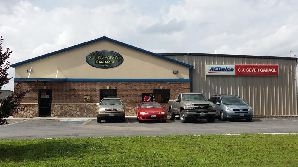 C.J. Seyer Garage: 2334 Rusmar St, Cape Girardeau, MO