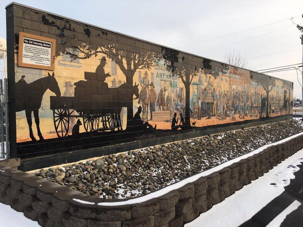 Toppenish Mural Society: 504 S Elm St, Toppenish, WA