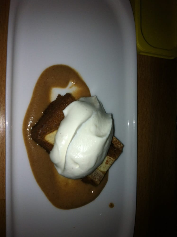 Brown butter cake w whipped cream and apples yelp for Little fish philadelphia