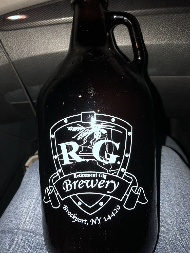 RG Brewery and Five Sons Winery: 1360 W Sweden Rd, Brockport, NY