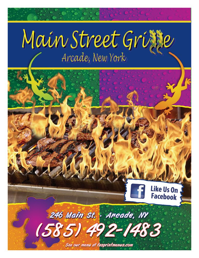 Main Street Grille: 246 Main St, Arcade, NY