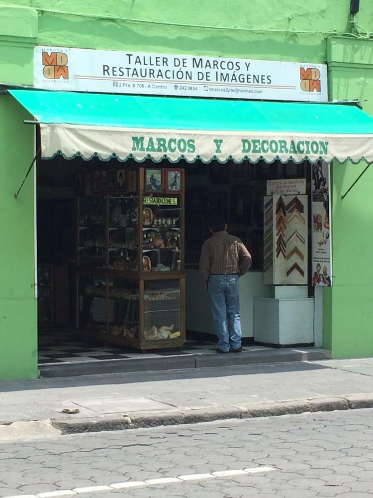 Marcos y Decoración - Enmarcado - Av. 2 Poniente 706, Centro, Puebla ...