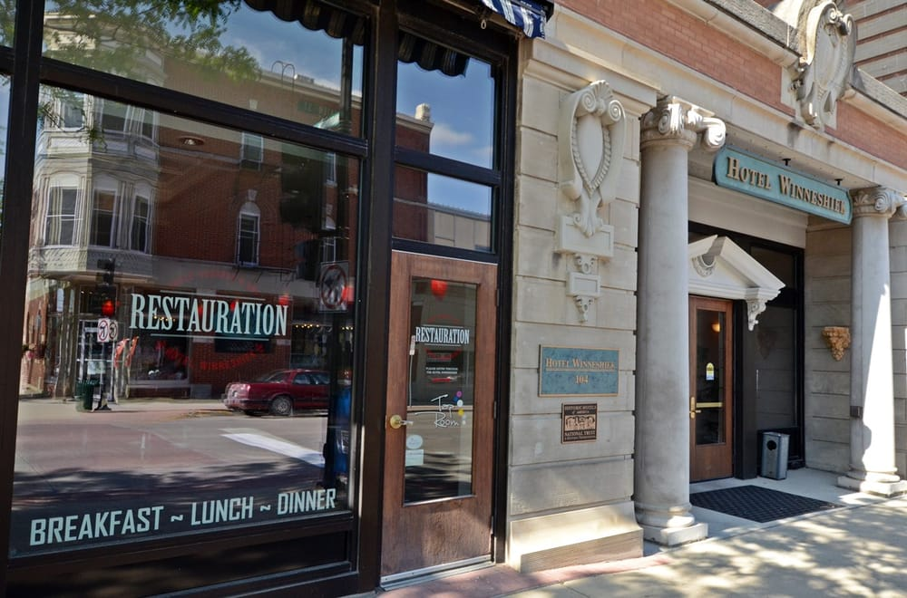 Restauration: 104 E Water St, Decorah, IA