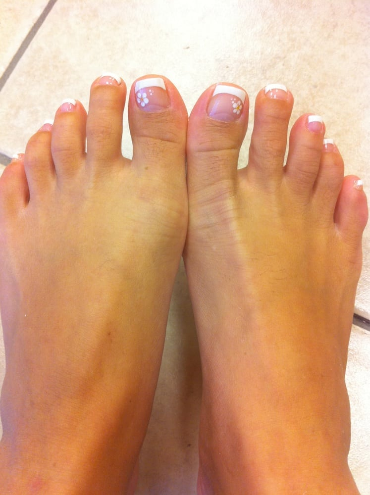 French tip pedicure - Yelp