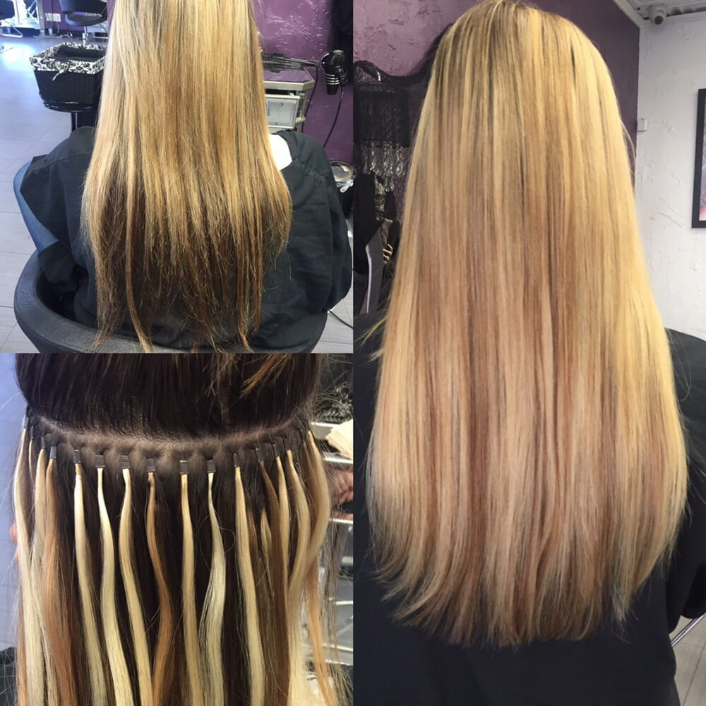 Dream Catchers Hair Extensions Beautiful Bianca gets color and Dream Catchers hair extensions Yelp 38
