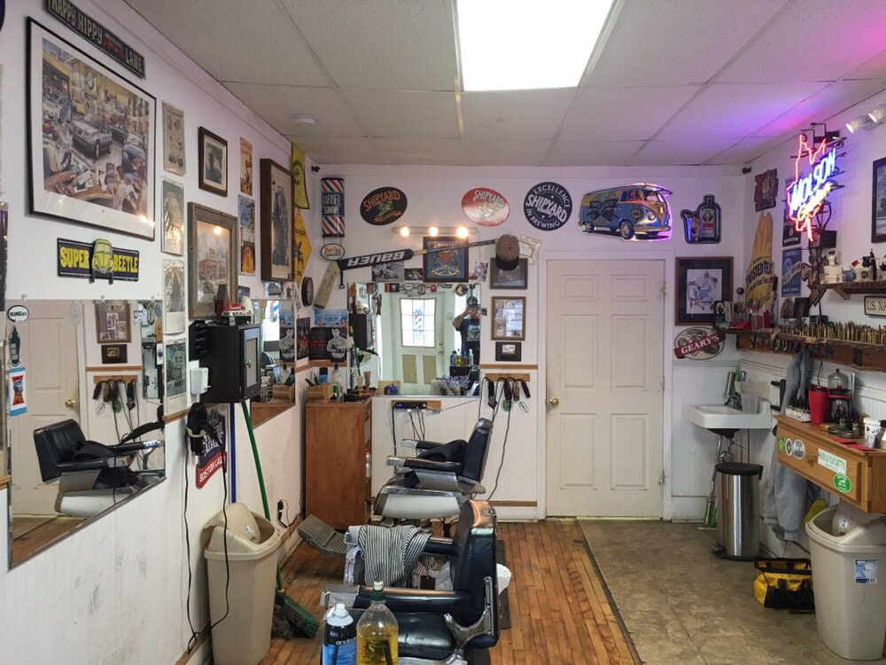 Gus's Barber Shop: 165 N Main St, Old Town, ME