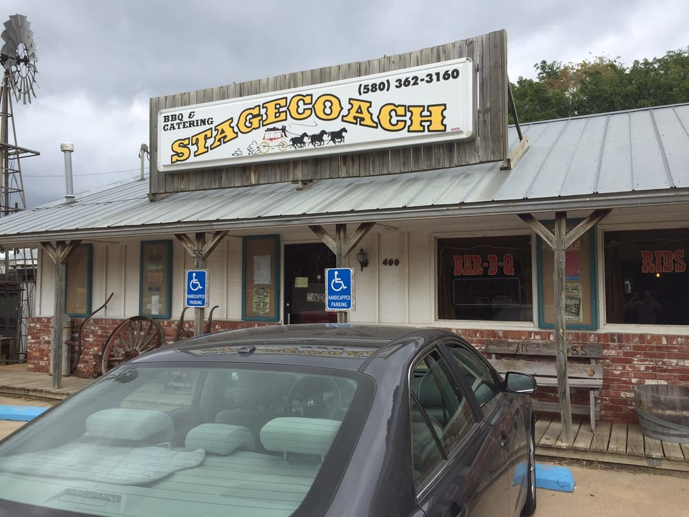 Stagecoach Catering And BBQ: 400 W South St, Newkirk, OK