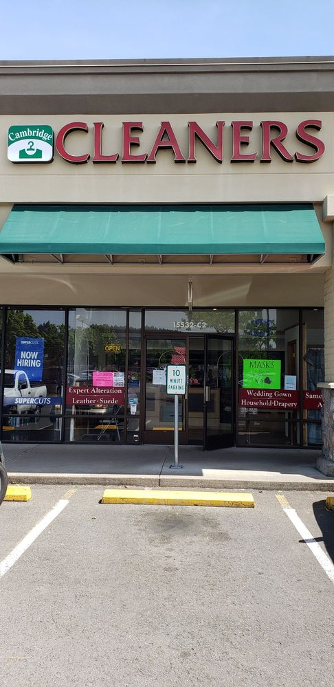 Cambridge Dry Cleaners: 15532 SW Pacific Hwy, Tigard, OR
