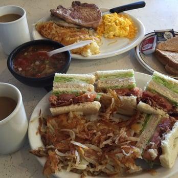 Photo Of Dandy Lion Restaurant Carson Ca United States Triple Decker Sandwich