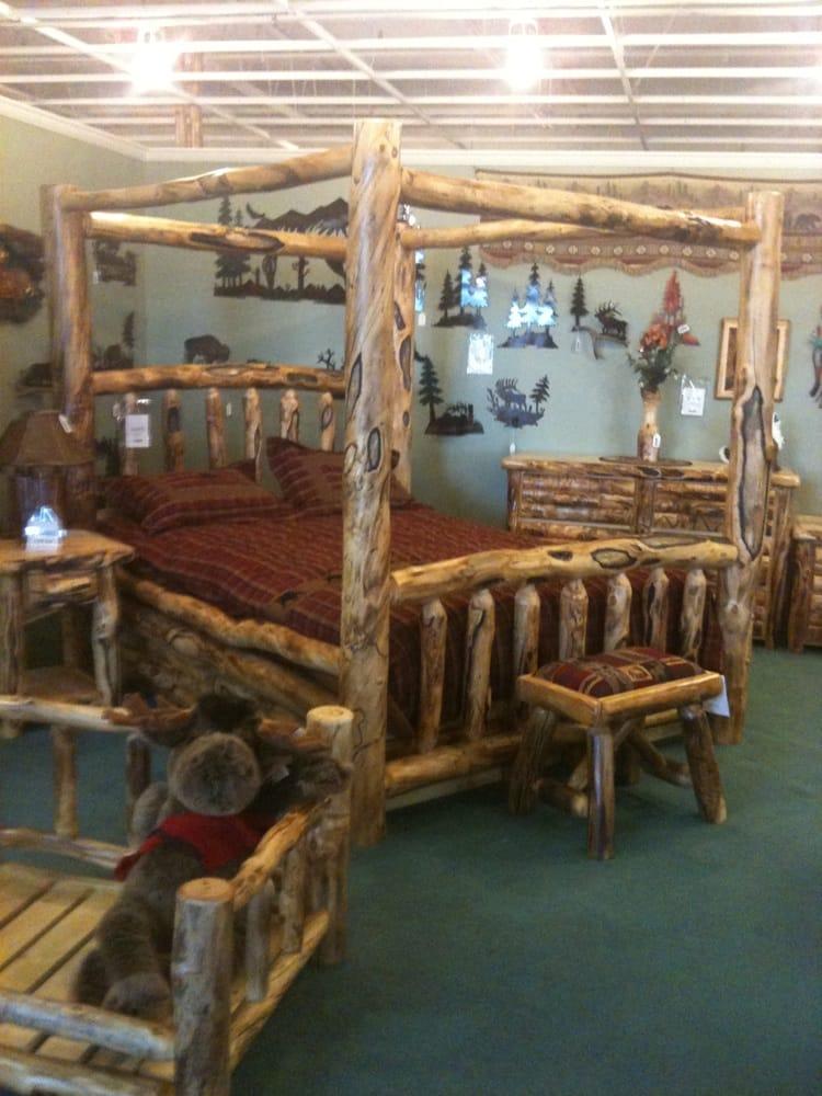 Rustic Log Furniture Furniture Stores 5353 Bannock St Denver Co Phone Number Yelp