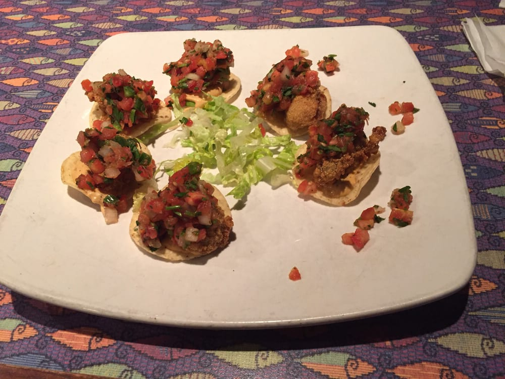 Yummy fried oyster nachos yelp for Fish city grill