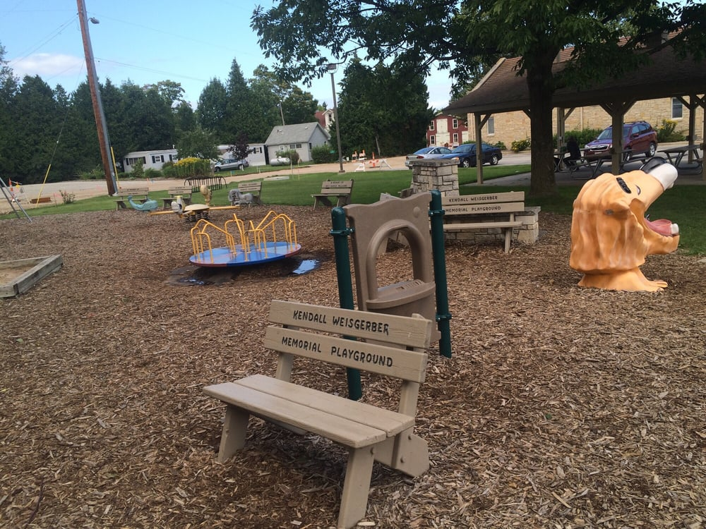 Kendall  Marie Weisgerber Memorial Playground: 2301-2499 Park Rd, Baileys Harbor, WI