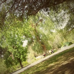 Photo of Kern River Campground - Bakersfield, CA, United States. Lots of  shade