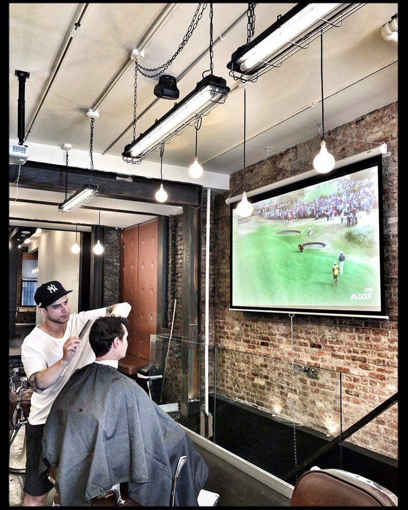 Matter of Instinct Barbershop: 122 Orchard St, New York, NY