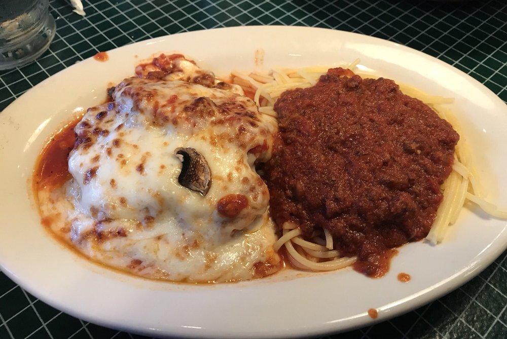 Food from Provino's Italian Restaurant