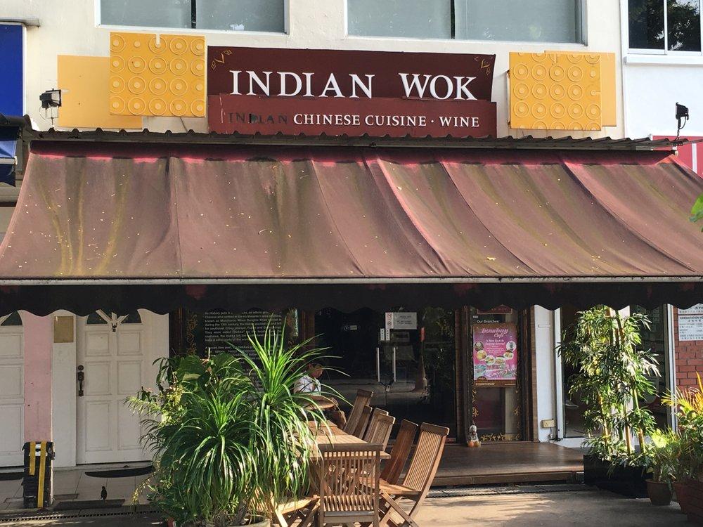 Indian Wok Restaurant Siglap Singapore