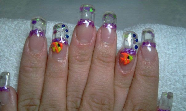 Photo Of Superstars Nails San Leandro Ca United States Aqua