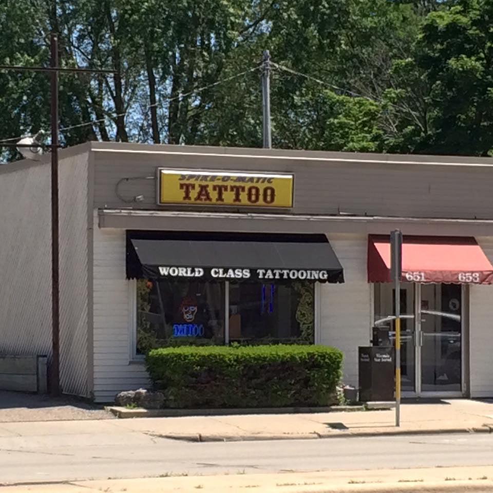 Spike o matic tattoo 12 photos 13 reviews tattoo for Tattoo madison wi