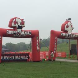 Photo Of Rugged Maniac 5K   Wilmot, WI, United States. Start And Finish