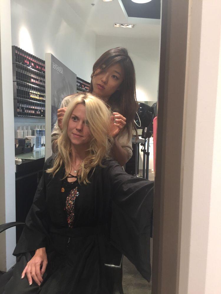 Who needs make up with BEAUTIFUL hair!! Thank you Karen Park!!! - Yelp