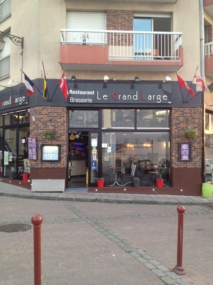 Le grand large restaurants 1 place h tel de ville - Restaurant seine port ...
