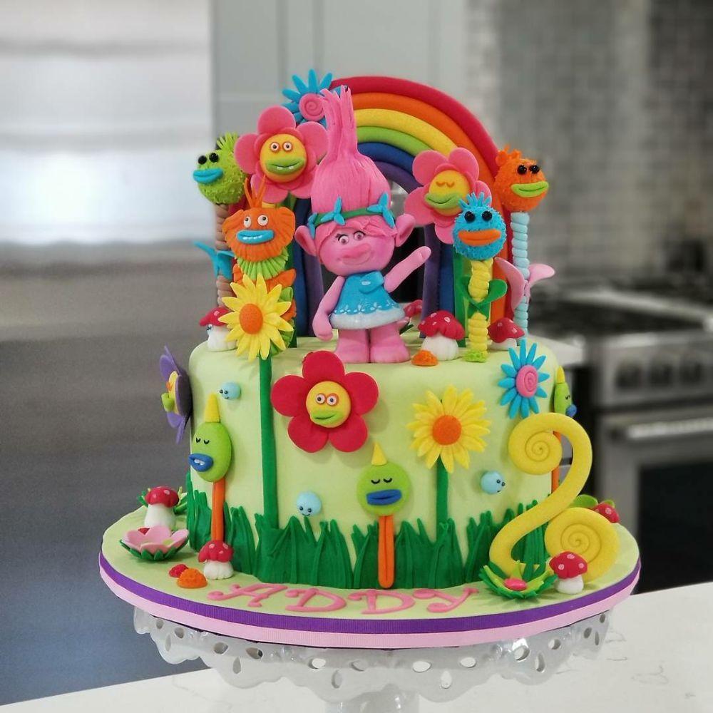 Poppy troll Birthday cake - Yelp