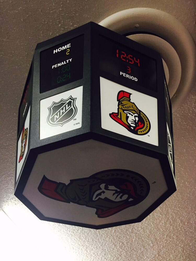 Photo Of Sports Obsession St Catharines On Canada Nhl Scoreboard Light Fixtures