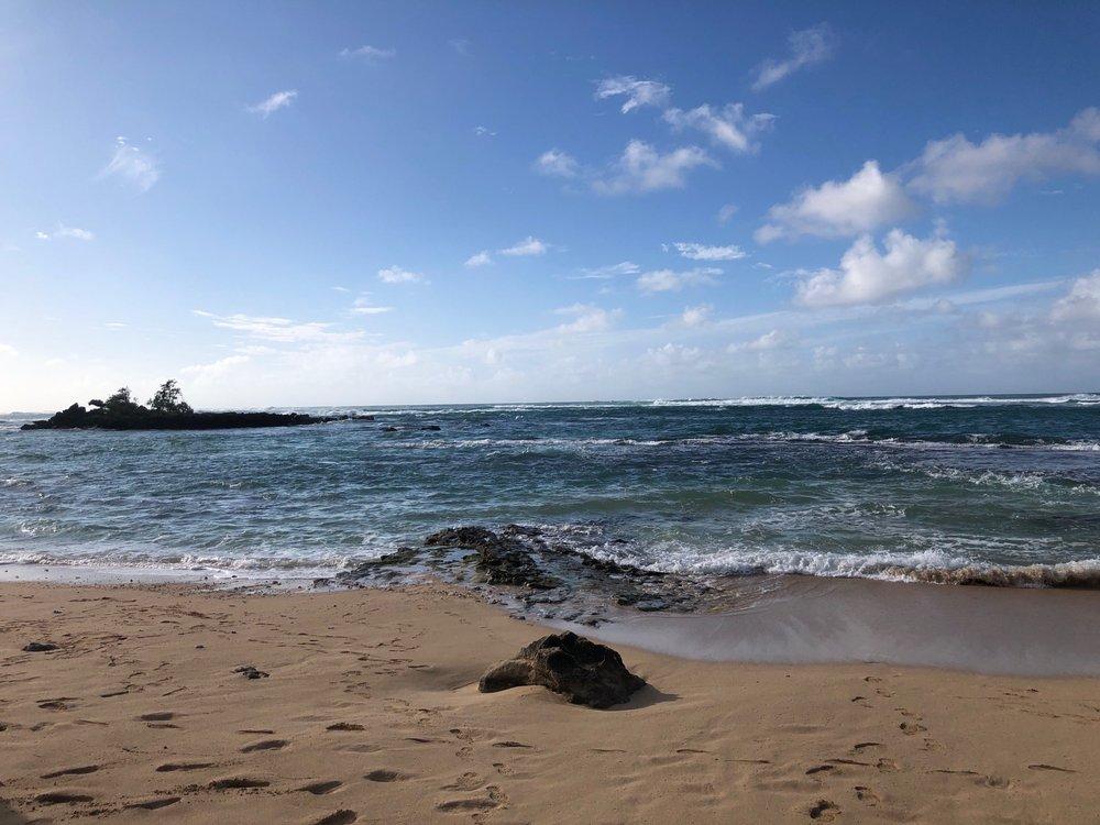 Pahipahi'alua Beach: 57 Kamehameha Hwy, Kahuku, HI