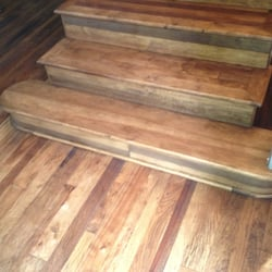 Photo Of Brucke Flooring   Tulsa, OK, United States. Hickory Flooring And  Stairs