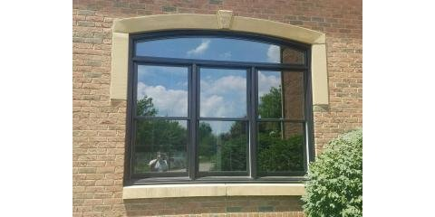 Andersen 400 Series Tilt Wash Double Hung Triple With Arch