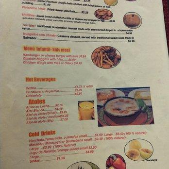 Salvadorian Restaurant Chicago