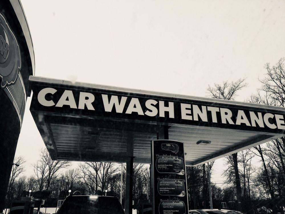 Blue Falls Car Wash: 400 North Leavitt Rd, Amherst, OH