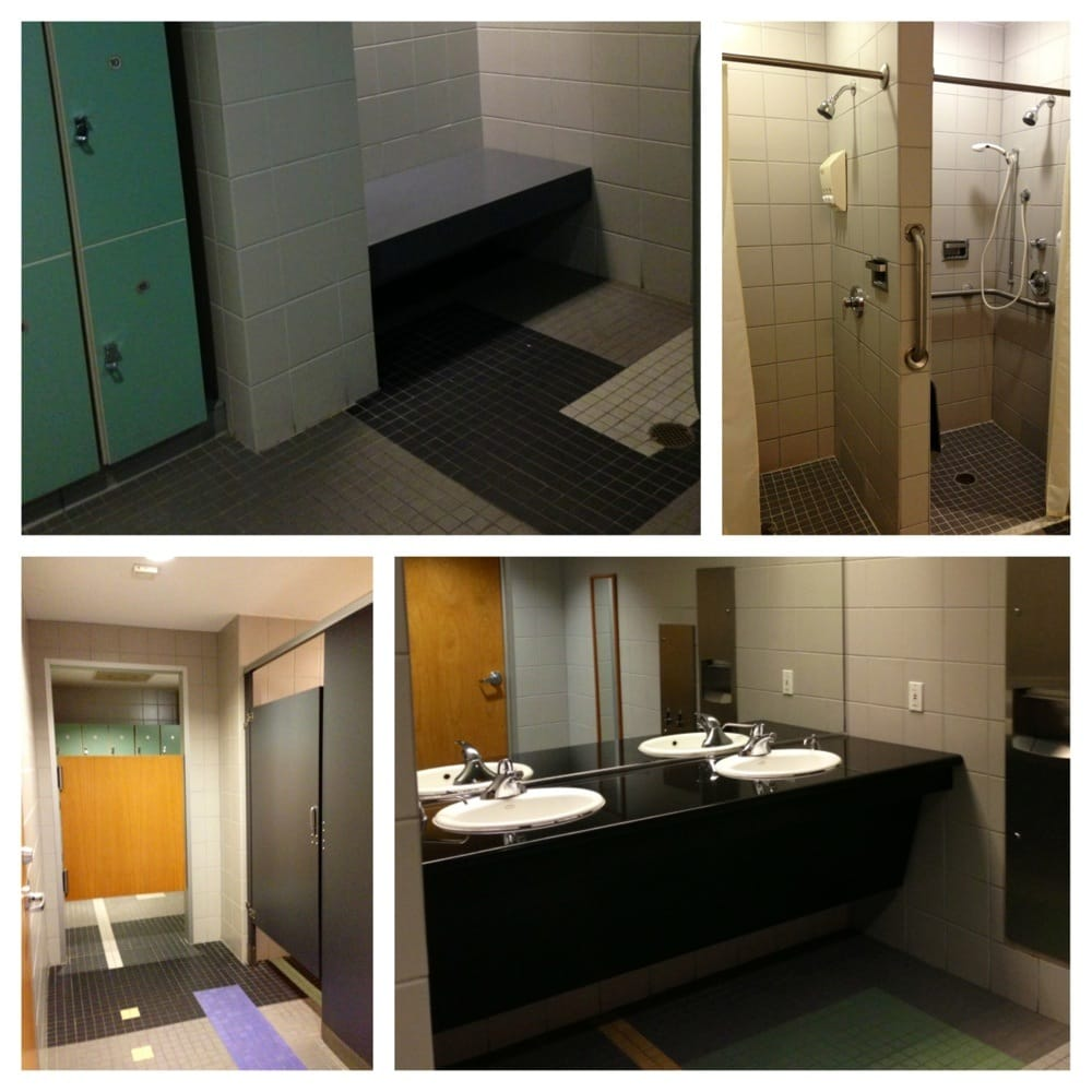 Women S Locker Room 1 Restroom Stall 1 Changing Bench 2 Showers