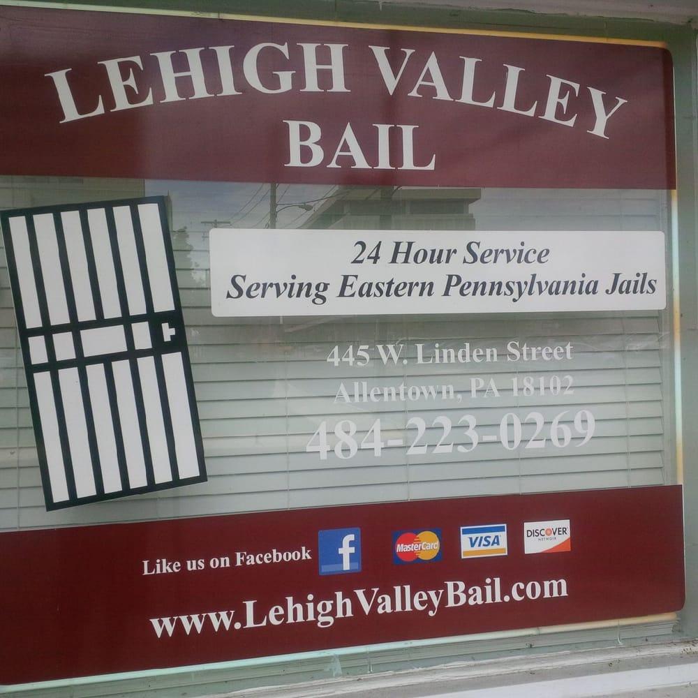 Lehigh Valley Bail: 445 W Linden St, Allentown, PA
