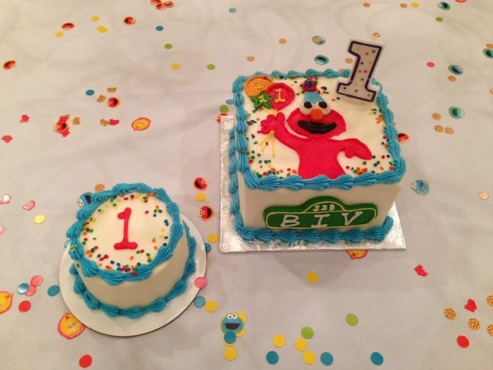 Elmo 1st Birthday Cake and Smash Cake Yelp