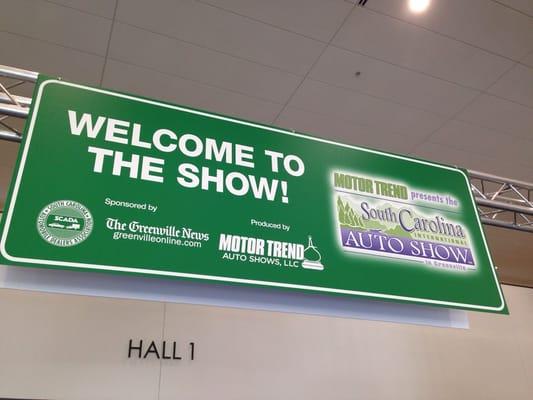 South Carolina International Auto Show Automotive Td Convention - Motor trend car show greenville sc